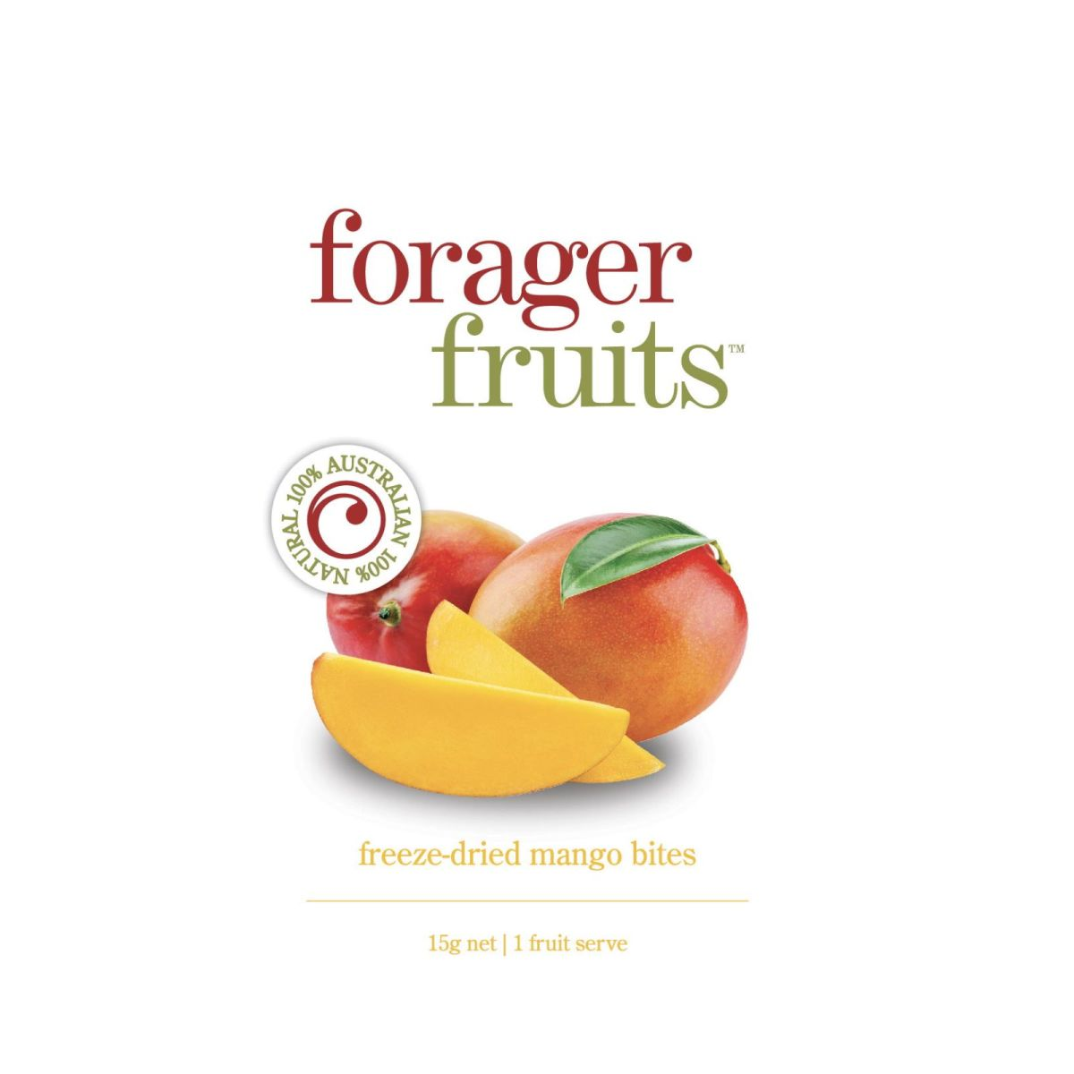 The Forager Food Co. - Freeze Dried Mango - 15g