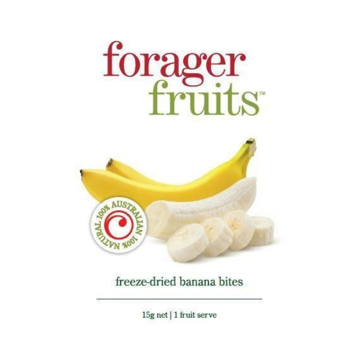 The Forager Food Co. - Freeze Dried Bananas - 15g