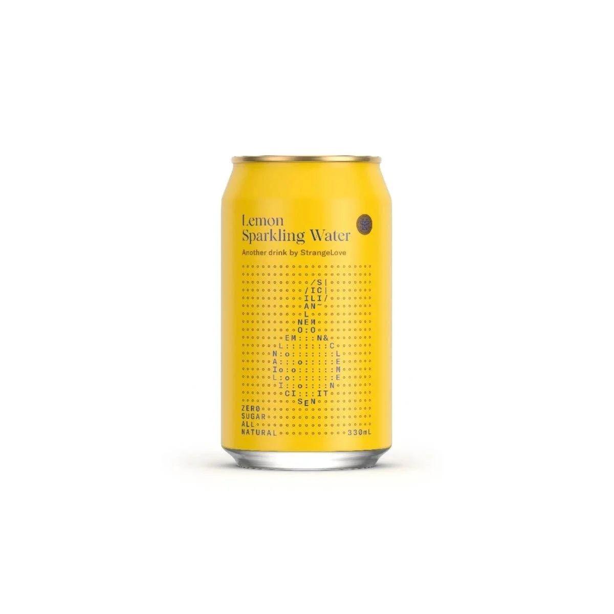 StrangeLove Water - Lemon Sparkling