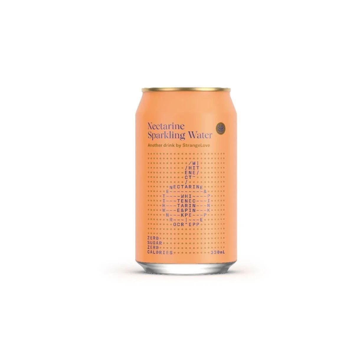 StrangeLove Water - Nectarine Sparkling