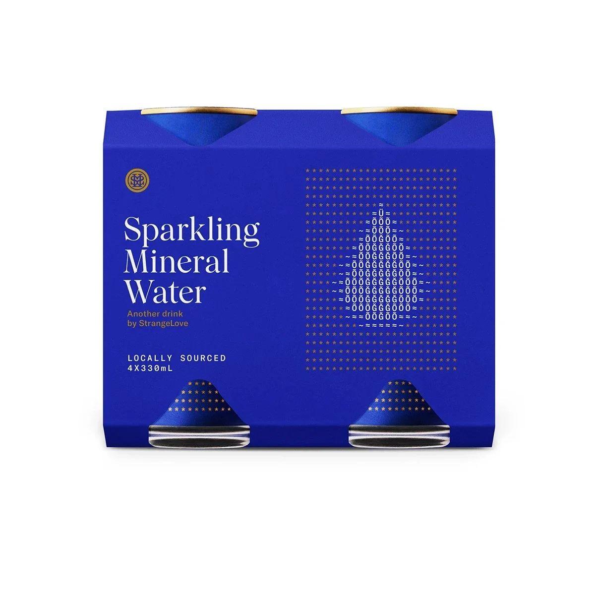 StrangeLove Water - Sparkling Mineral