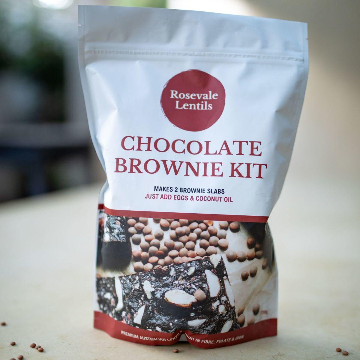 Rosevale Lentils - Chocolate Brownie Kit