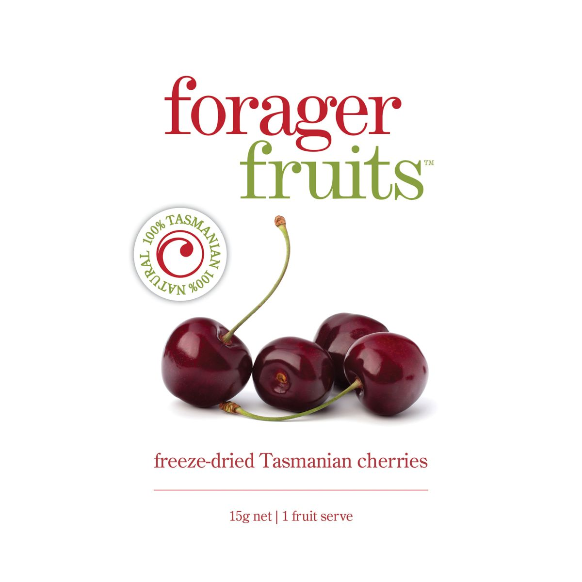 The Forager Food Co. - Freeze-Dried Tasmanian Cherries