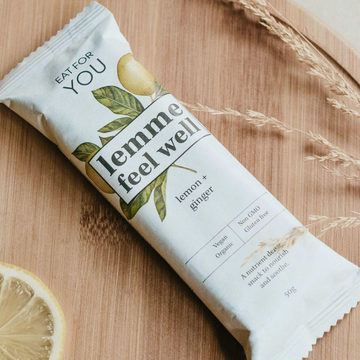 Eat For You - Lemme Feel Well - Lemon + Ginger