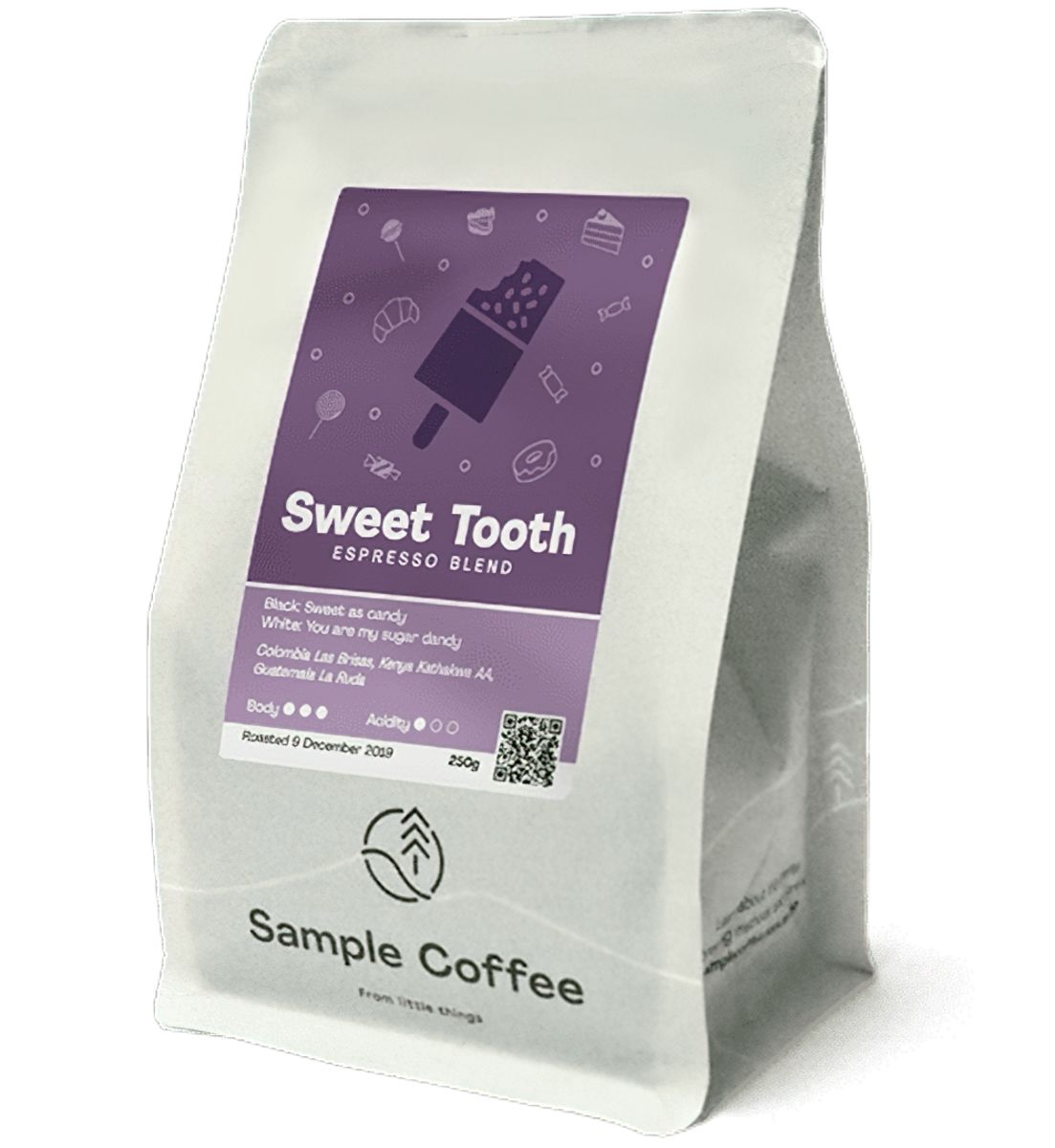 Sample Coffee - Sweet Tooth Espresso Blend