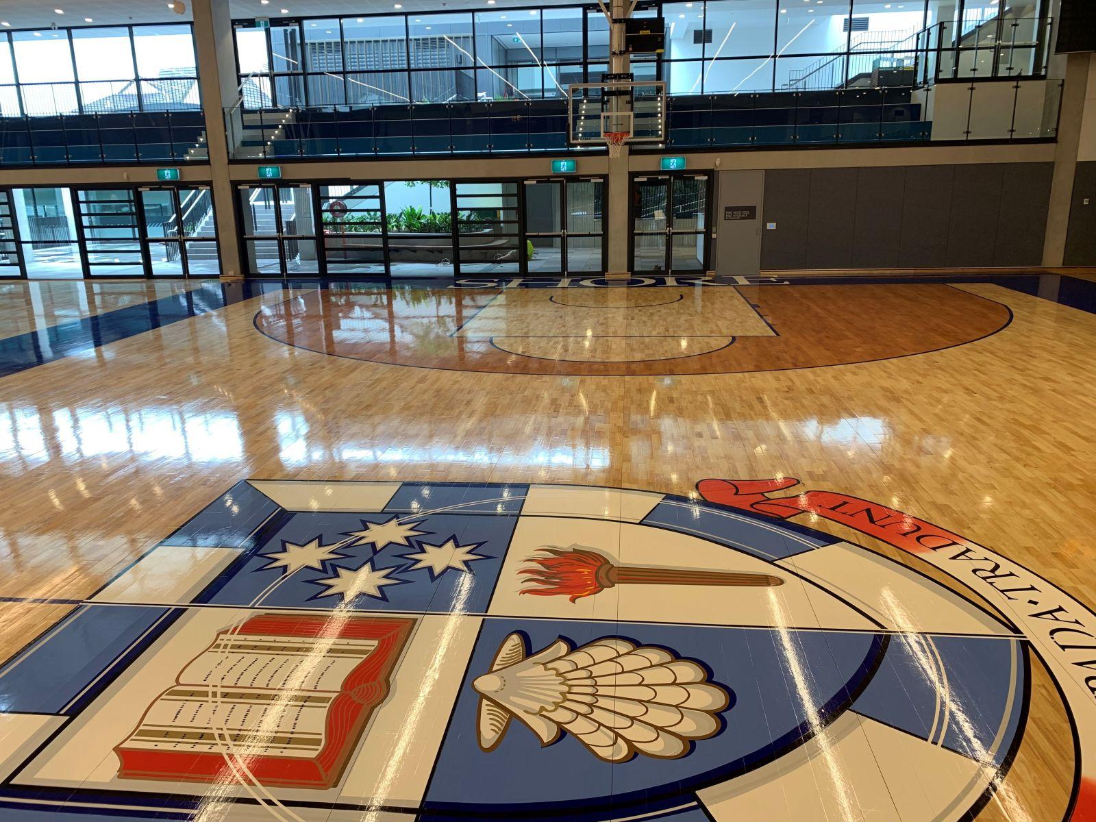 Shore School, North Sydney NSW Court Design