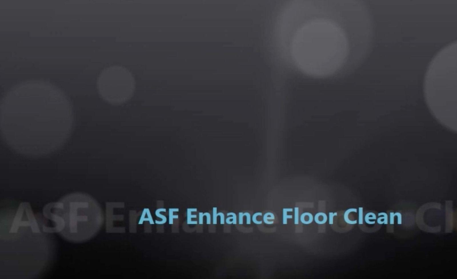Enhance Floor Cleaning Equipment