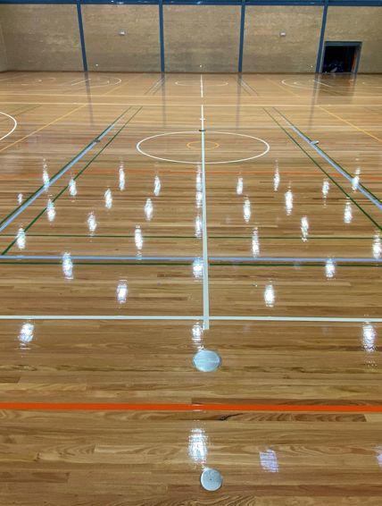 Active Sports Finisher Floor Cleaning Procedures