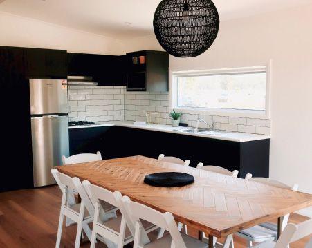 Beachcomber Cabin Kitchen