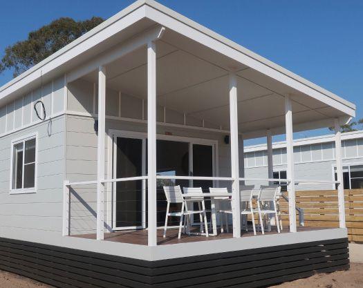 Sandpiper Cabin Exterior