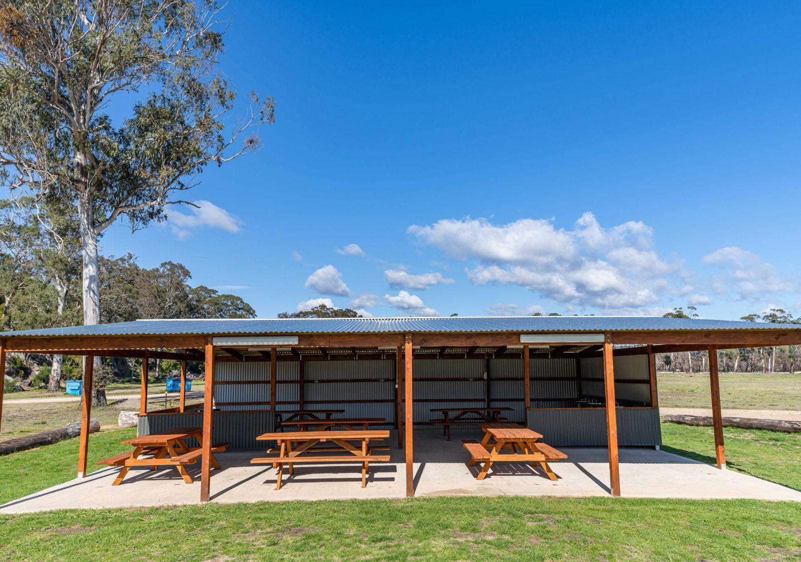 Camp Kitchen at Boydtown Beach Holiday Park