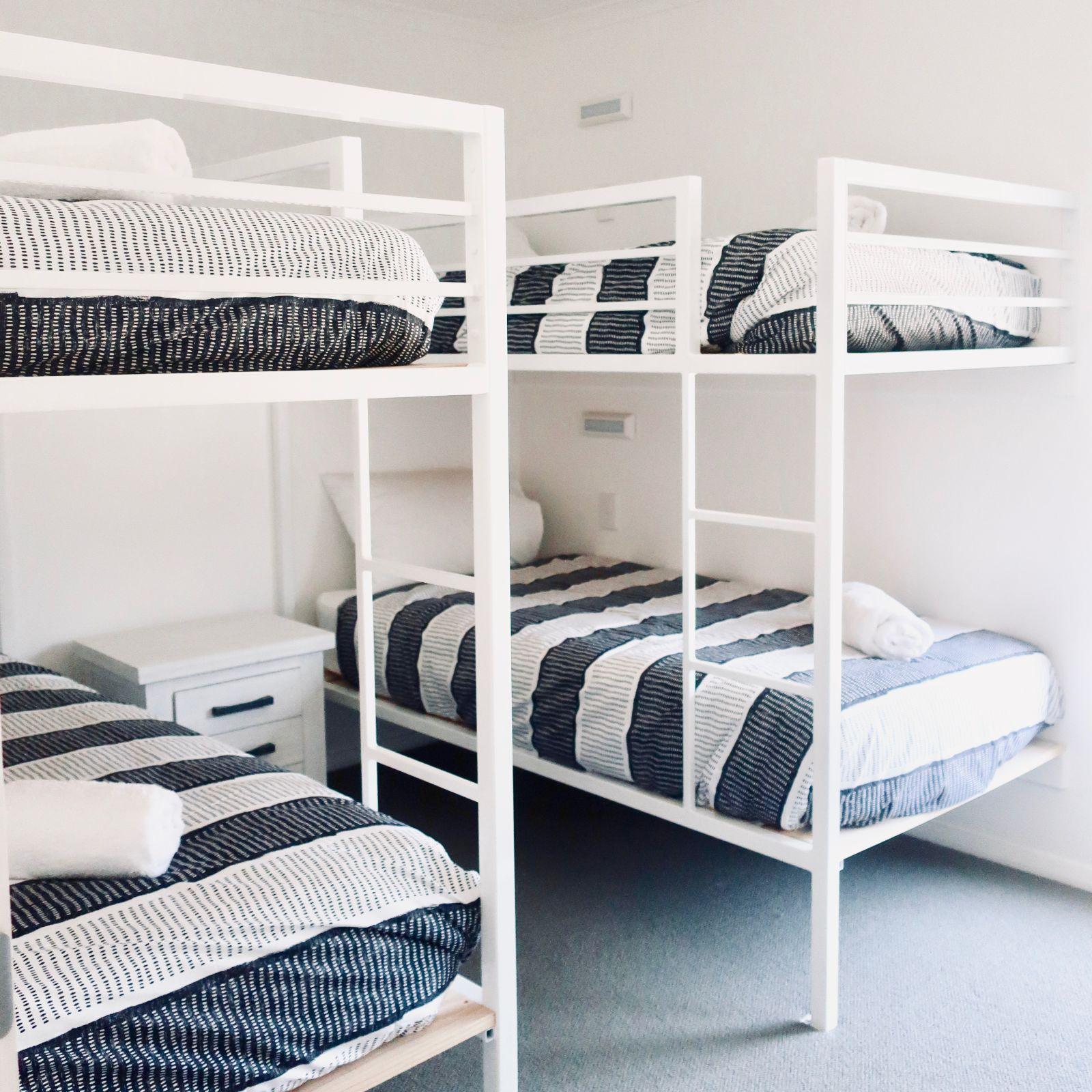 Beachcomber Cabin double bunkbeds