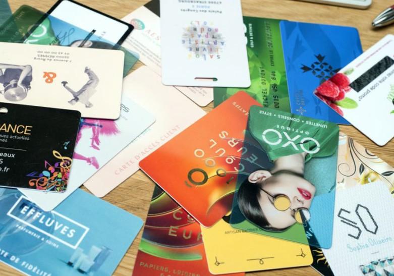 Image représentant le type de produit sélectionné, comme une carte, un dépliant, une brochure, une affiche