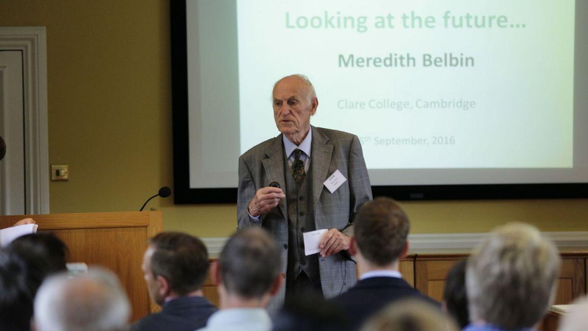 Meredith Belbin, 2016