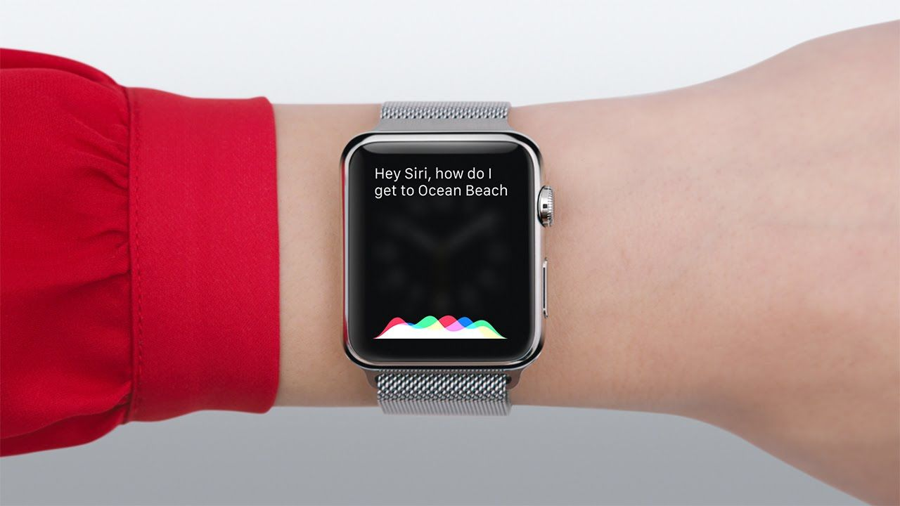 You can ask Siri anything just turning the Watch to your face or holding the crown button.