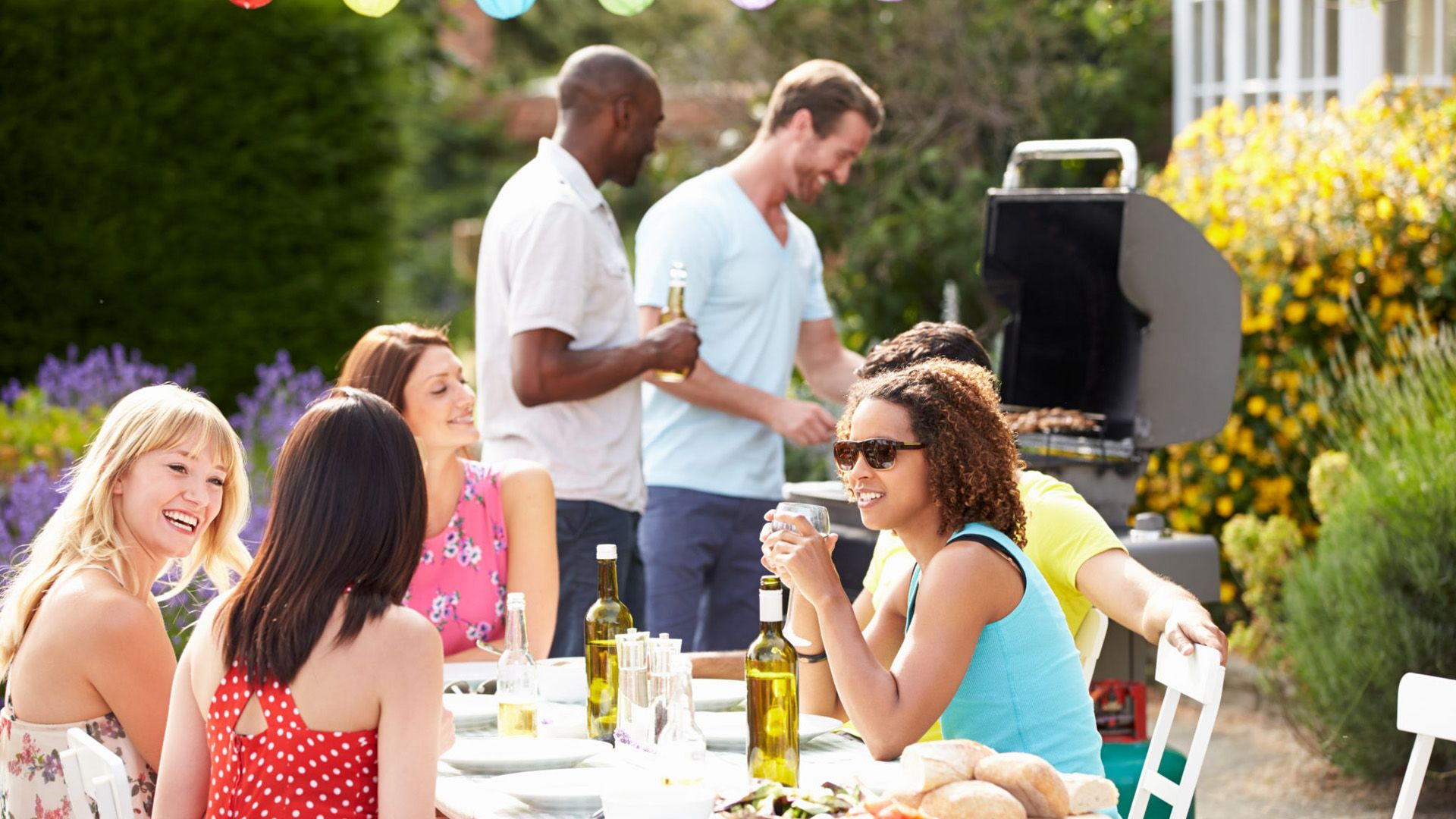 Always try to find your social role in any situation, for example, take care of the grill at a barbeque party.