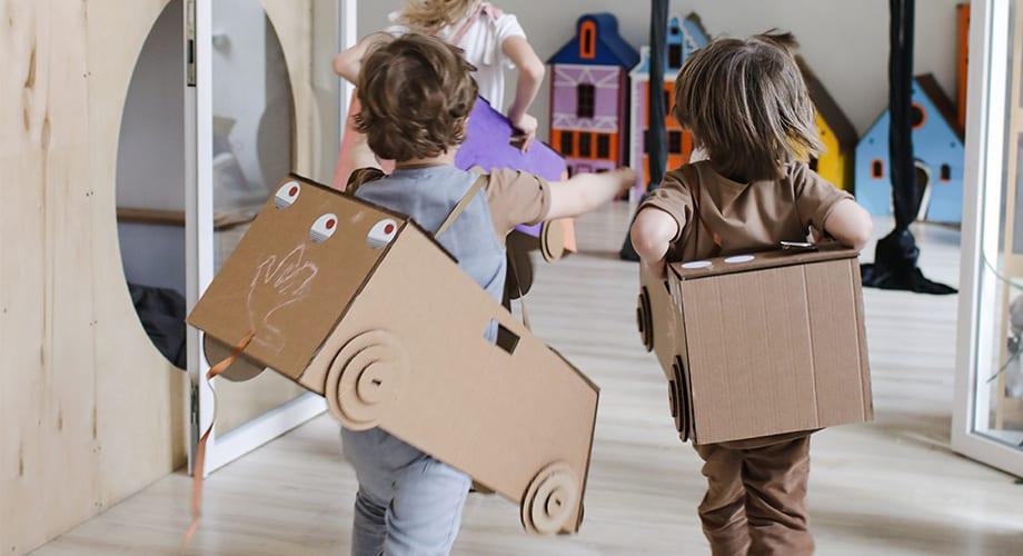 Lasten mielikuvitus on usein parempi kuin aikuisten.