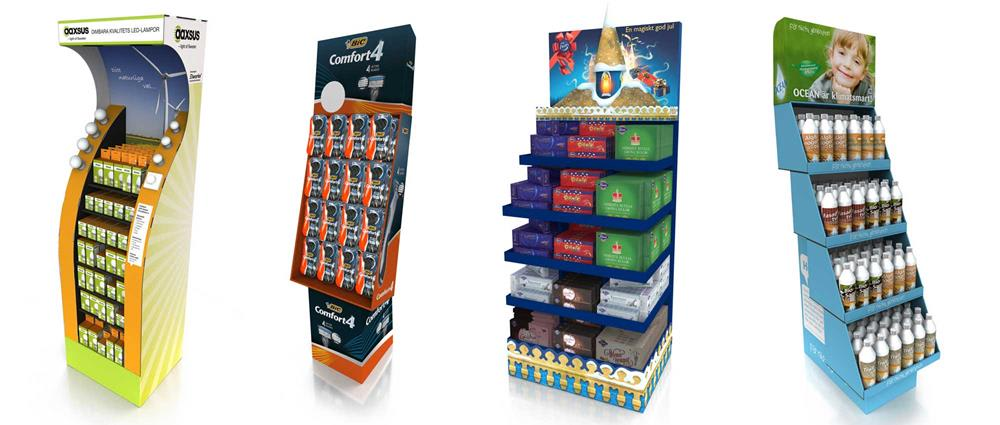 We deliver easy to use displays that increase visibility