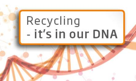 Recycling, it's in our DNA