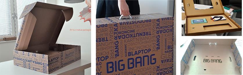 """Bolj varno pošiljanje izdelkov po pošti in dovršena """"unboxing"""" izkušnja."""