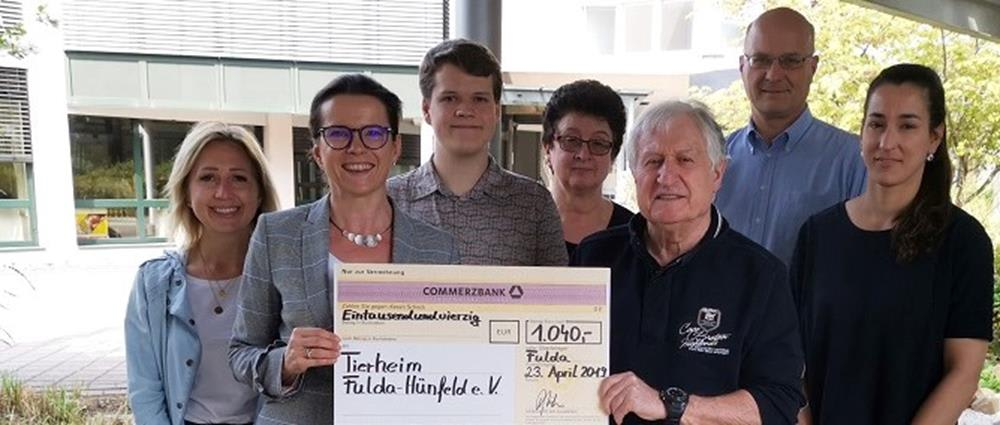Proceeds to Tierheim Fulda-Hünfeld e. V. Animal Shelter