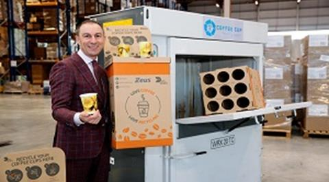 Zeus, the Irish-owned global packaging company has launched the first nationwide infrastructure to recycle every type of paper coffee cup in Ireland.