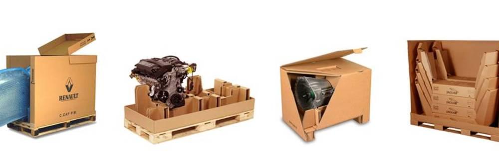 industrial packaging for standard automotive range