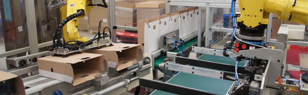 machine systems for packgaing