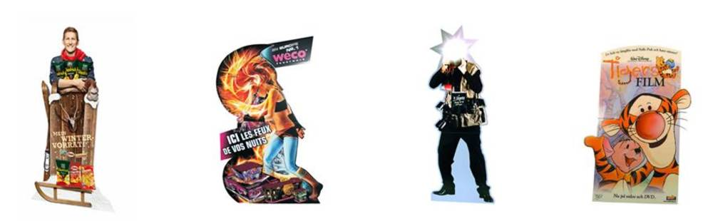 standees and pop up displays