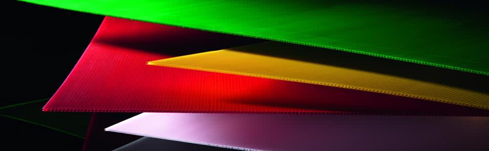 Twinwall polypropylene sheets