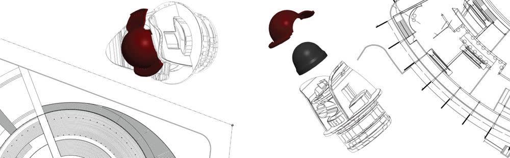 Ergonomic front push tap design