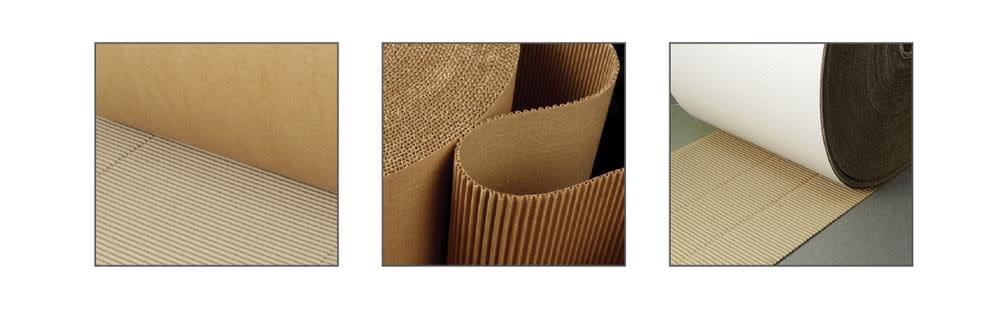 Singleface corrugated rolls