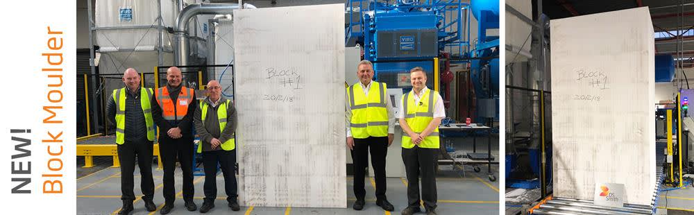 Foam Products Invests £500k in an Energy Efficient EPS Block