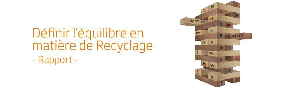 Définir l'équilibre en matière de Recyclage
