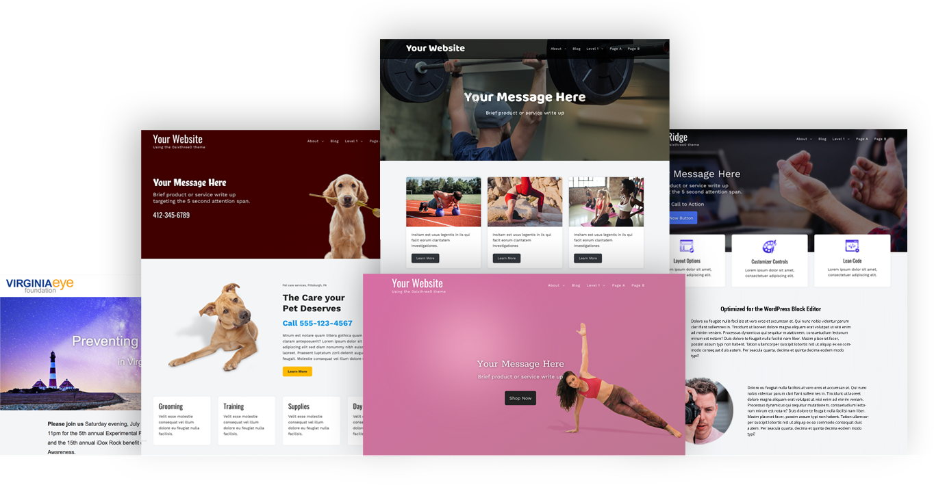 OsixthreeO A flexible, lightweight, multi-purpose WordPress theme