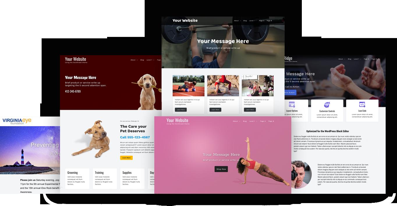 OsixthreeO A flexible, lightweight, multi-purpose WordPress theme