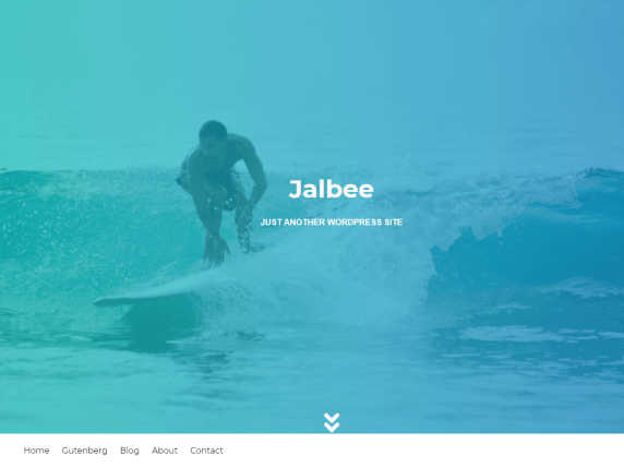Jalbee Simple WordPress Theme