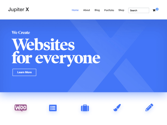 JupiterX Lite WordPress Theme