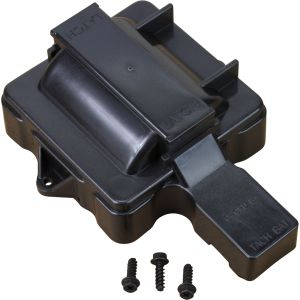 V8 HEI Distributor Replacement Coil Cover - Black