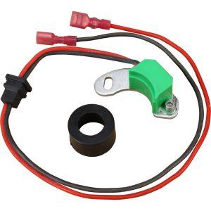 Alfa Romeo / Audi / BMW / Mercedes-Benz / Opel / Porsche / Saab / Volvo / Volkswagen Air Cooled Distributor 050 009 Non Vacuum 12v Electronic Ignition Module