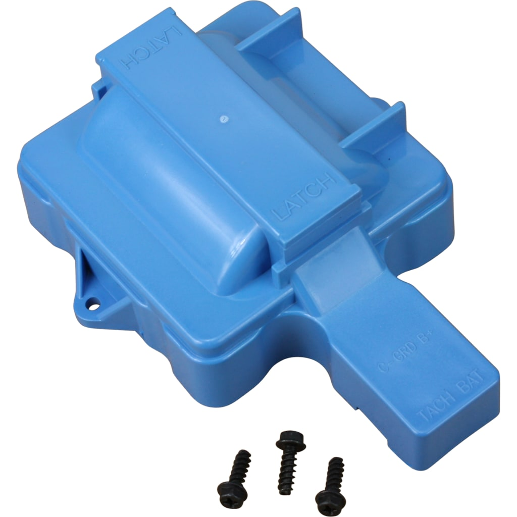 V8 HEI Distributor Replacement Coil Cover - Blue