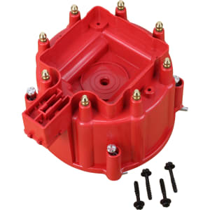 V8 HEI Distributor Replacement Cap - Red