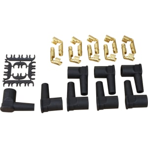 FEMALE Cap Boot and Terminal Conversion Kit For ALL 10mm Plug Wires