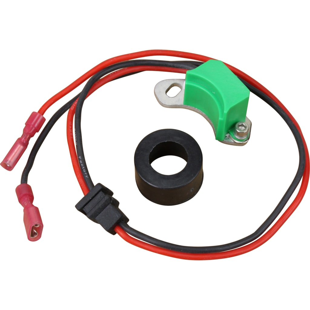 Alfa Romeo / Audi / BMW / Mercedes-Benz / Opel / Porsche / Saab / Volvo / Volkswagen Air Cooled Distributor 050 009 With Vacuum 12v Electronic Ignition Module