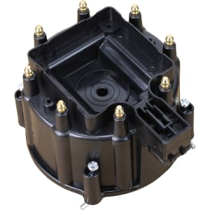 V8 HEI Distributor Replacement Cap - Black