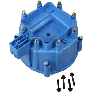V8 HEI Distributor Replacement Cap - Blue