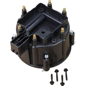 V6 HEI Distributor Replacement Cap - Black