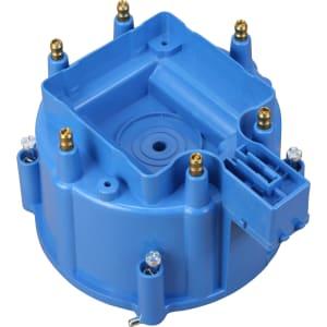 V6 HEI Distributor Replacement Cap - Blue