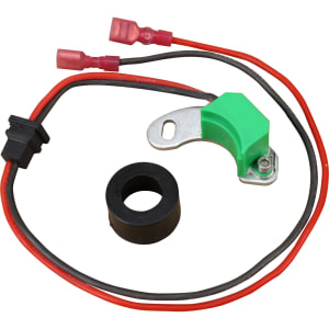 Alfa Romeo / Audi / BMW / Mercedes-Benz / Opel / Porsche / Saab / Volvo / Volkswagen Air Cooled Distributor 050 009 Non Vacuum 12v Electronic Ignition Module