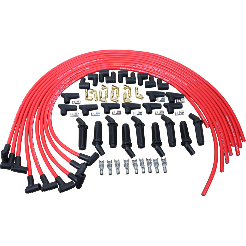 Buick / Cadillac / Chevy / Ford / GMC / Lincoln / Mercury / Olds / Pontiac 250-460 V8 Universal Plug Wire Set